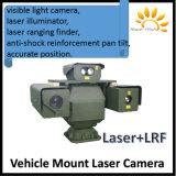 4.5km Lrf3km PTZ IP Op een voertuig gemonteerde IP van de Laser Camera