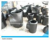 Te Buttweld inconsútil 16.9 de las instalaciones de tuberías de acero de carbón del ANSI
