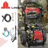 9 l/min benzinemotor Elektrische hogedrukwaterstraalwagen Wasmachine voor reinigingsvloeistof