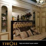 단단한 나무 침실 가구에 의하여 주문을 받아서 만들어지는 만원 옷장 해결책 Tivo-019VW