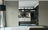 Moderno construído em Wardrobes do quarto com a porta 3 deslizante
