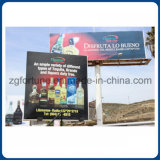 Publicidade exterior Frontlit Backlit Glossy Flex Banner Impressão digital de 680g