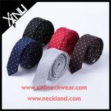 Lazos flacos de encargo tejidos al por mayor de seda de las muchachas del 100%