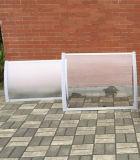 Toldos de alumínio eretos livres da placa de PC do espaço livre do frame para o balcão