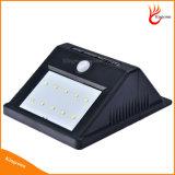 여분 긴 연장 전기줄을%s 가진 실내 태양 가정 빛 10 LED 태양 PIR 운동 측정기 안전 빛 옥외 빛