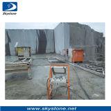 Máquina de Serra de fio de diamante para extracção de pedra mármore e granito