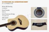 36 인치 작은 바디 Cutway 색깔 음향 기타 Sg026c