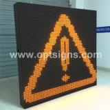 Optrafficは可変的な制限速度の交通標識のLED表示スクリーンを修復した