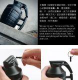 Canecas de café cerâmicas do copo do projeto da forma da granada da novidade