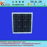 poli comitato solare di 18V 5W per 12V il sistema (2018)
