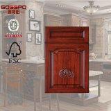 Europäische Art geschnitzte hölzerne Panel-Küche-Schranktür (GSP5-020)