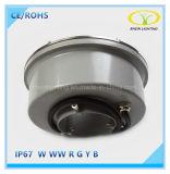 Luz caliente de la fuente de las ventas 9W IP67 LED con la carrocería de la lámpara del acero inoxidable