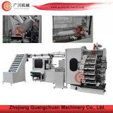 Machine d'impression incurvée par couleur de cuvette de la marque six de Guangchuan