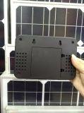 Nouveaux produits Système solaire portable avec éclairage LED 3W 9V Ventilateur solaire portable et système d'éclairage