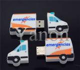 주문을 받아서 만들어진 USB 지팡이 PVC USB 섬광 드라이브