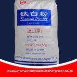 Het hoogwaardige die Dioxyde van het Titanium in Verf voor het Schilderen wordt gebruikt, Rubber, Batterij