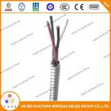 Взаимо- Locked Armored бронированный кабель Mc алюминиевого сплава UL1569 (кабель MC/BX)