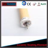Elemento riscaldante di ceramica di resistenza dell'alta allumina