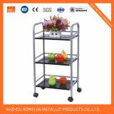 Los carritos de la cocina de acero inoxidable para uso doméstico