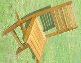 Stoel van de Rugleuning van het Meubilair van de tuin de Openlucht Houten voor Rust