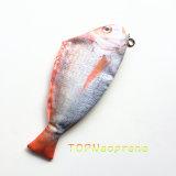 ナイロンコイの魚のペンのジッパー装飾的な袋の構成のケースの袋