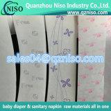 Documento stampato dello sblocco idrostatico di Jombo per i pannolini del bambino/tovaglioli sanitari