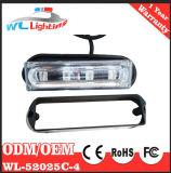 Indicatore luminoso chiaro del volante della polizia montato superficie dei 4 LED