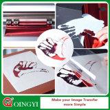 Venta caliente de Qingyi del vinilo metálico del traspaso térmico para la tela