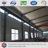 Sinoacmeは多重スパンの金属フレームのプラント建物を組立て式に作った