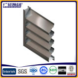 Ahorro de energía de aluminio y vidrio de ventana del obturador cuchillas