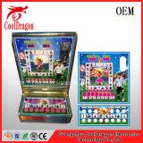 Máquina de jogo a fichas da parte superior de tabela
