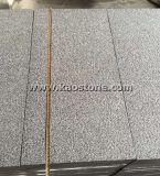 Mattonelle grige del granito del Impala scuro Polished più poco costoso G654 per il pavimento