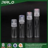 (15ml 20ml 25ml 30ml) 애완 동물 관 둥근 플라스틱 향수 분무기 다시 채울 수 있는 정밀한 안개 스프레이어 병