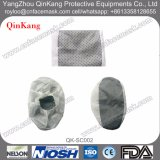 Couverture non-tissée antidérapage de chaussure de tissu de Disposbale