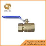 Válvula de bola de latón con dos vías DN25