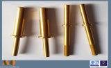 Peça de referência CNC customizada de precisão, peças de latão torneadas CNC