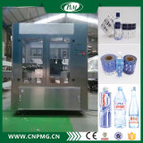 Adhesivo giratorio de la máquina de etiquetado para la línea de envasado de agua de alta velocidad