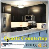 Commerce de gros Co/matériaux décoratifs Surface solide de l'Imitation mur de pierre panneau/brun foncé Quartz Comptoir de granit