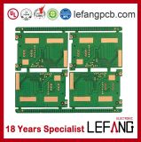 PWB rígido da placa de circuito da segurança de sistema do controle de acesso