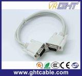 Мужчины/мужчины 9 контактный разъем VGA dB компьютера кабель (1,5 м)