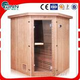 Sitio de madera sólido de madera de la sauna del cedro de Tradictional de las personas de Fenlin 4