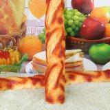 Pane dorato dell'unità di elaborazione di colore giallo del modello lungo dell'alimento