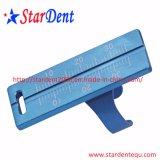 Canal de racine dentaire Endo règle de mesure de l'instrument dentaire