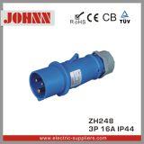 IP44 3p 16A 지상 거치된 산업 소켓