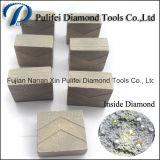 1200mm grande ha veduto la pietra solida di taglio di segmento del panino degli strumenti del diamante