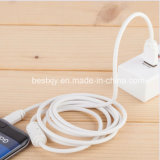Изолированный PVC магнитный кабель данным по USB кольца для Android iPhone