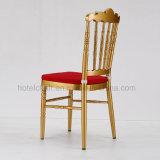 Свадьбу алюминиевых Кьявари кресло с подушкой сиденья для мобильных ПК