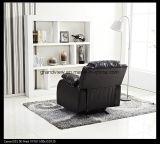 Cadeira de sala de estar Preço barato Cadeira giratória de bala de couro Faux