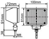 O estroboscópio Emergency ilumina-se (LTE317)