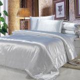 100% de los conjuntos de edredón de seda de morera funda de almohada de Seda La seda de morera sabanas de seda